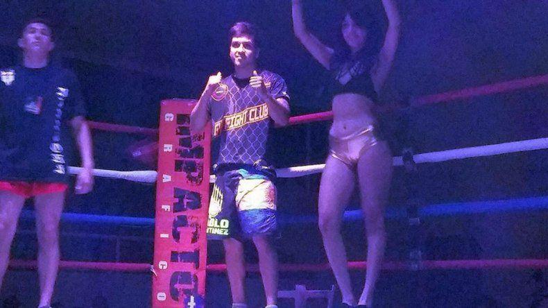 El comodorense Santiago Barrios va por un título que lo catapulte internacionalmente