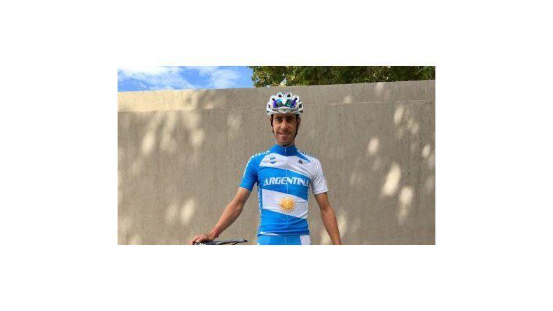 El chubutense Eduardo Sepúlveda se prepara para competir en el Mundial que se realizará en Noruega.