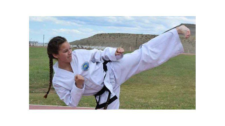 Leila Ramos intensifica sus entrenamientos.