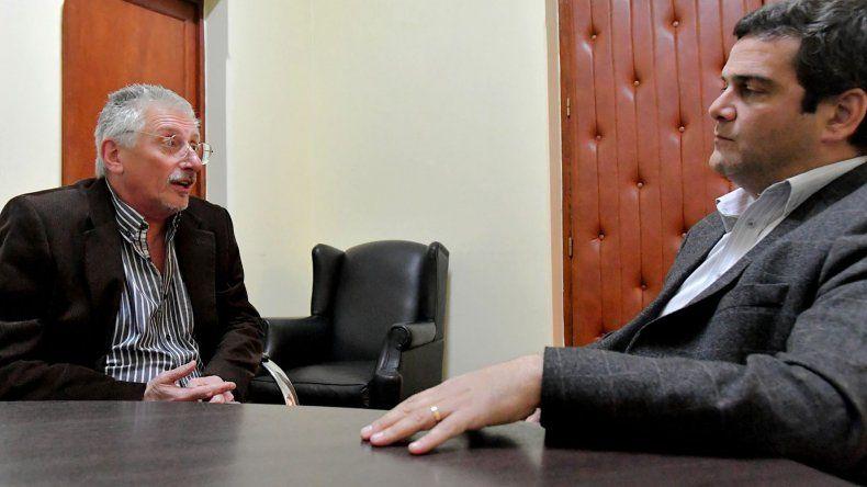 La reunión de Jerónimo García con el indentente de Gaiman