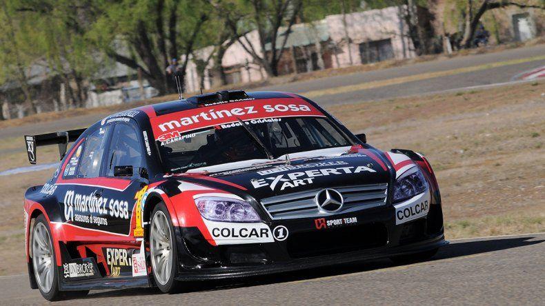 Agustín Canapino logró ayer la pole número 40 en la categoría Top Race V6.