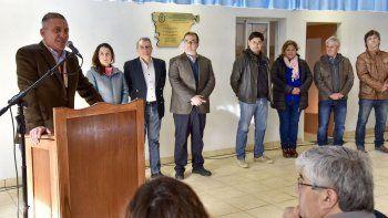 La inauguración del SUM del Sindicato Municipal.