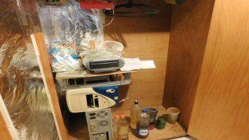 Encontraron una fábrica de drogas sintéticas en un allanamiento por robo
