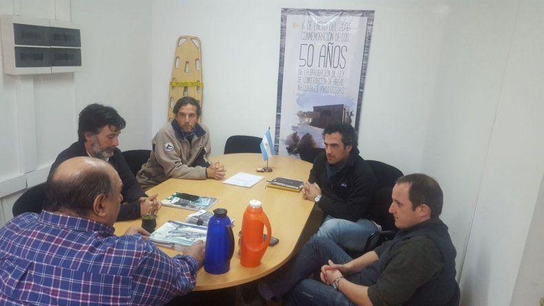 Turismo acordó trabajo conjunto con el Instituto de Conservación de Ballenas