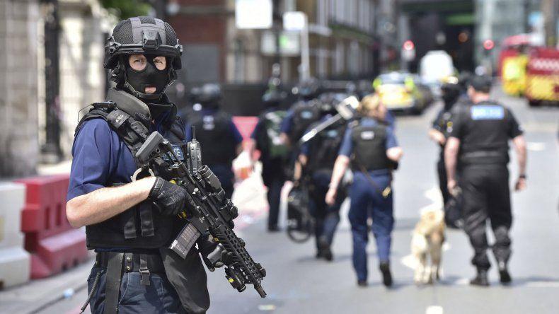 Londres permanece bajo un estricto control de seguridad.
