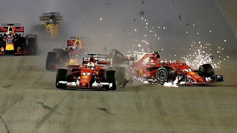 Hamilton ganó en Singapur y amplió  su ventaja como líder de la Fórmula 1