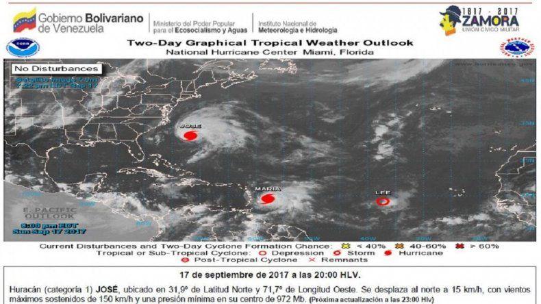 Miedo en Venezuela por el paso del huracán María