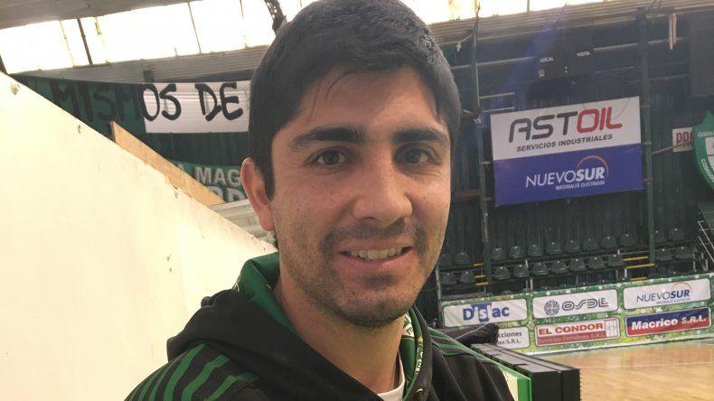 Martín Villagrán debutará el viernes de manera oficial como entrenador de Gimnasia y Esgrima de Comodoro Rivadavia.