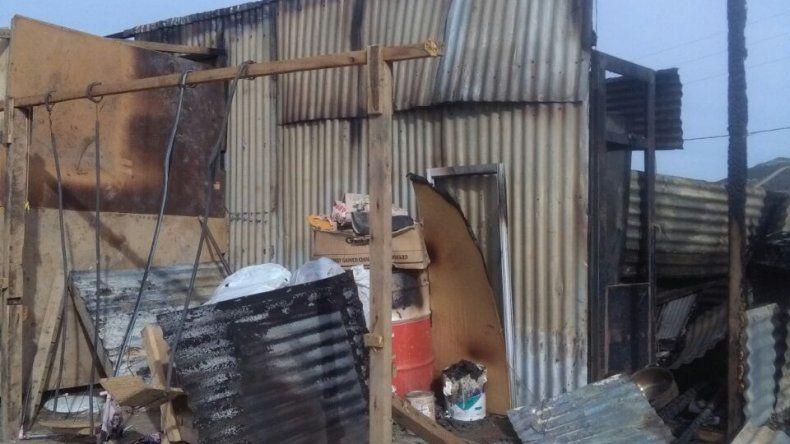 Una familia perdió todo en un incendio y necesita ayuda