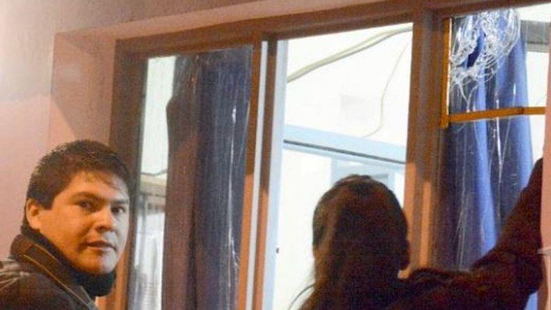 La marcha por Gustavo Gerez terminó con desmanes y un detenido