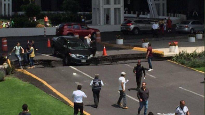 Sismo de magnitud 7 sacudió el centro de México