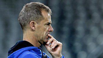 El capitán Daniel Orsanic prefirió no hablar sobre su futuro al frente del equipo argentino.