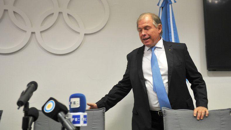 El presidente del Comité Olímpico Argentino (COA)
