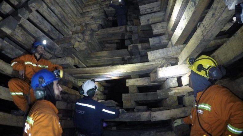YCRT difundió fotografías de la zona de ventilación que el lunes sufrió un derrumbe