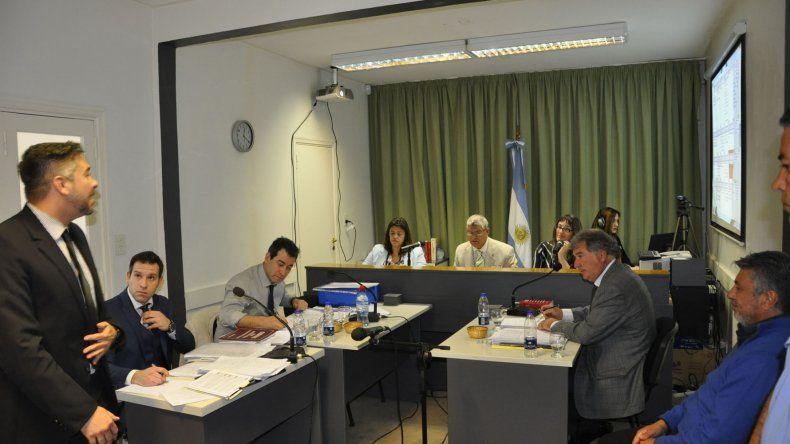 El juicio contra Alberto Vargas que se desarrolla en Rawson.