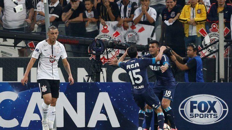 Racing viene de empatar 1-1 con Corinthians por el partido de ida jugado en San Pablo.