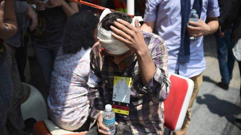 Los efectos del terremoto de México