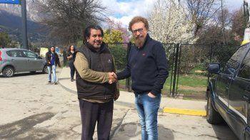 luenzo se reunio con referentes mapuches por la ley de comunidades indigenas
