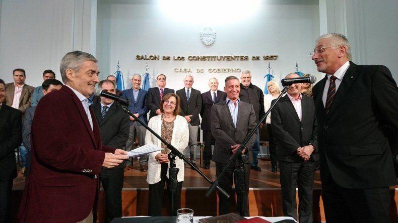 Jerónimo García ya es jefe de ministros. La idea no es gritar