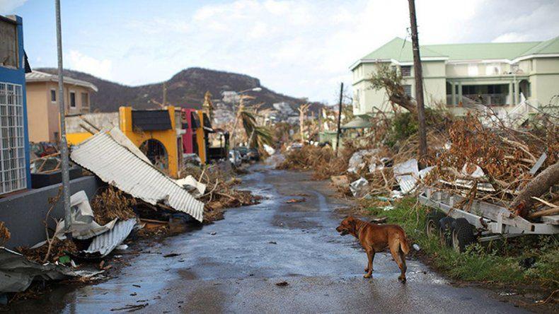 Huracán María: 15 muertos en la isla de Dominica