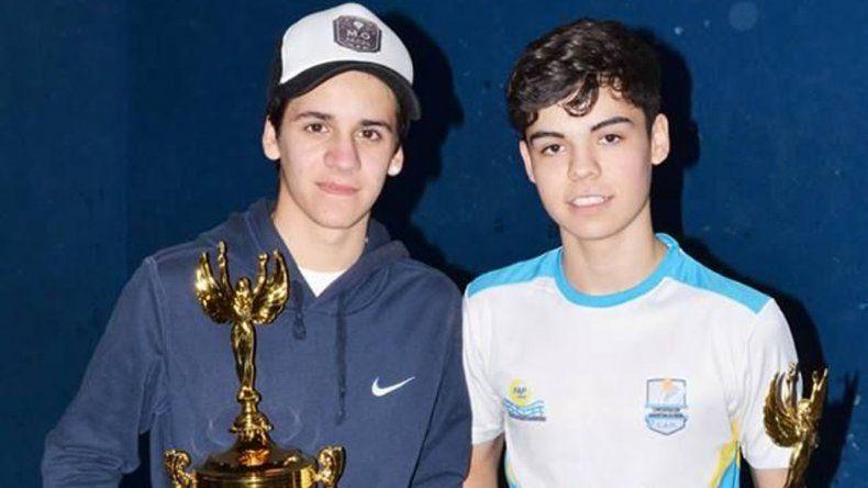 La dupla de juveniles Barraud-Fernández sorprendió en Tercera categoría.