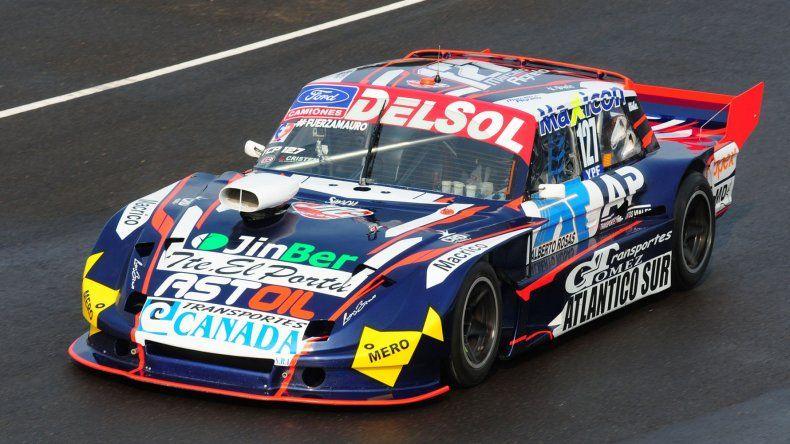 El Ford Falcon de Marcelo Agrelo que espera este fin de semana ser otra vez protagonista.
