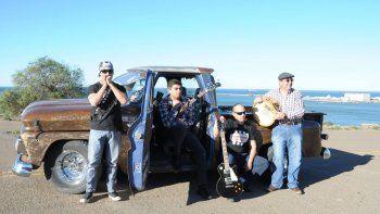 Camaleones Vintage presentará este sábado su primer disco titulado Ruta del Desierto.