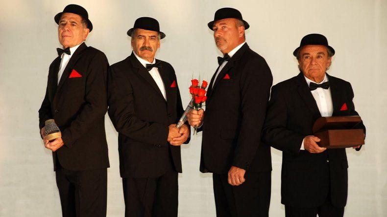 El Club de Caballeros presentará Rotos de amor en Comodoro Rivadavia