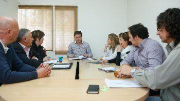 El intendente de Rada Tilly se reunió con concejales para informar los resultados de los trabajos que se realizaron luego del temporal.