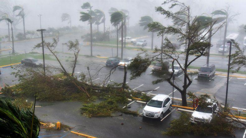 Otro golpe de la naturaleza: el huracán María tocó tierra en Puerto Rico