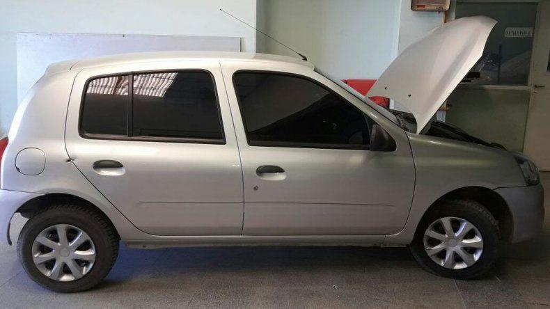 Secuestraron auto mellizo proveniente de Caleta Olivia