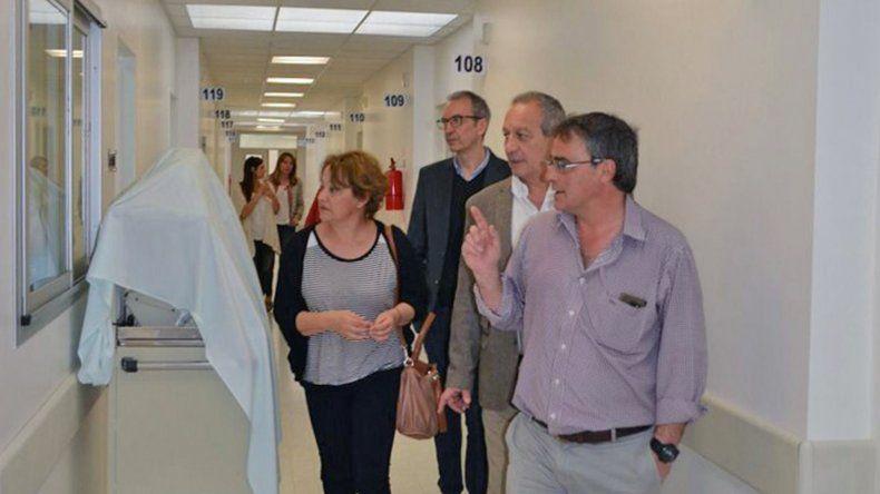 El ministro de Salud recorrió el Hospital Alvear