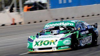 El Chevrolet de Agustín Canapino que dominó ayer en la primera clasificación del TC en la provincia de San Luis.