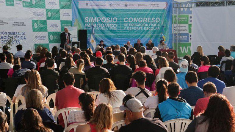 El Simposio se extenderá hasta mañana en Puerto Madryn.