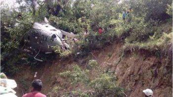 se estrello un helicoptero con ayuda a las victimas del terremoto en mexico