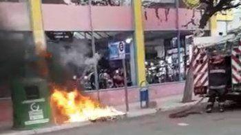 quemaron un iglu en pleno centro