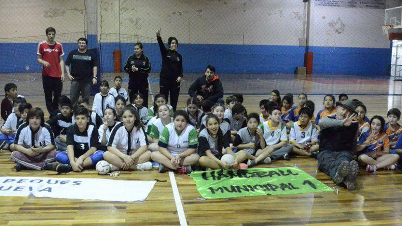 Se realizó el 5° encuentro recreativo de minihándbol