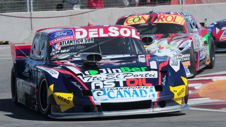 El Ford de Marcelo Agrelo que buscará hoy la victoria en el TC Pista.