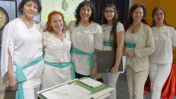El grupo de emprendedoras está conformado por Camila Sirex, Brenda Stefó, Patricia Vega, Silvia Morán, Graciela Sayago y Silvia Cool.