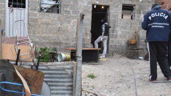 El allanamiento que se efectuó ayer por la tarde en el barrio Ceferino Namuncurá arrojó resultado negativo.