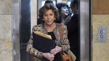 María Julia Alsogaray enfrentó una serie de procesos judiciales en los últimos años como consecuencia de su función en el gobierno de Carlos Menem.