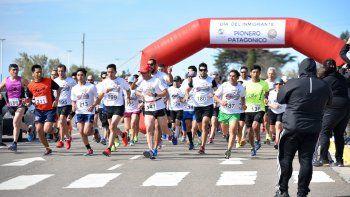 Alrededor de 150 atletas le dieron el marco a la 5ª Corrida del Día del Inmigrante.