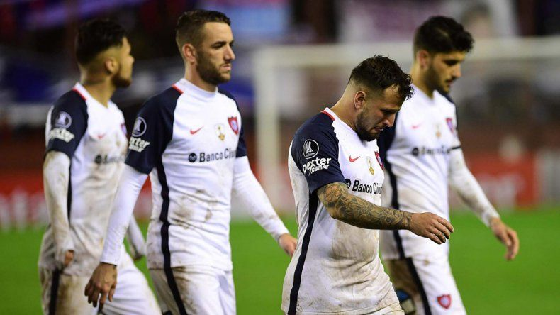 San Lorenzo viene de quedar eliminado en la Copa Libertadores.