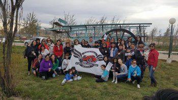 Un fin de semana distinto vivió Las Heras con el 5to Rally de la Mujer.