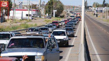 La congestión vehicular en determinados horarios es uno de los argumentos esgrimidos para cambiar el módulo de emergencias.