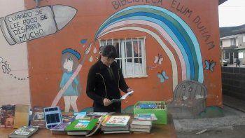 hasta manana se regalan libros en el san cayetano