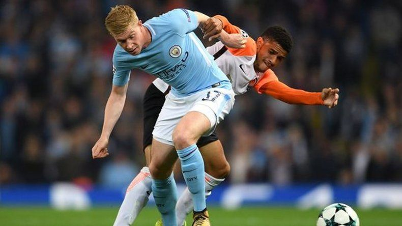 Manchester City superó al Shakhtar Donetsk