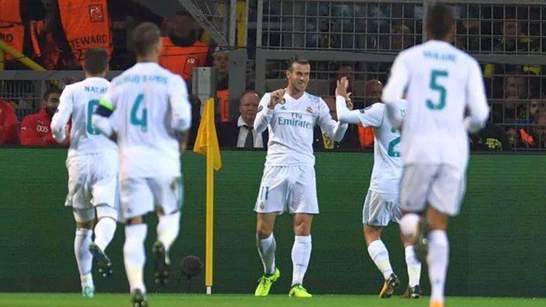Real Madrid rompió el maleficio y le ganó al Dortmund en Alemania