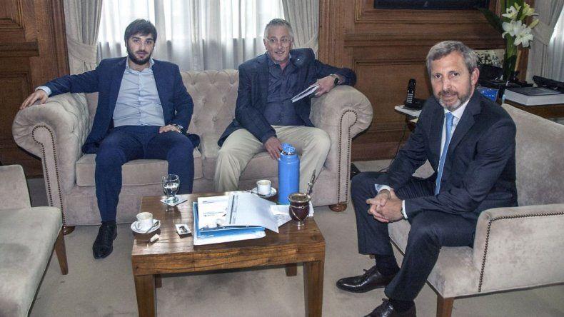 Jerónimo García se reunió con Frigerio por la incorporación de obras al Plan Patagonia