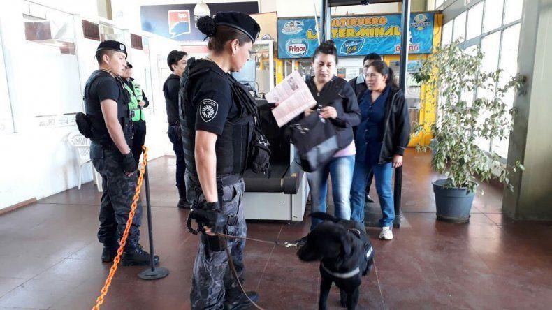 Identificaron a 300 personas  en el scanner de la Terminal